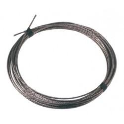 Câble inox 4mm de diamètre