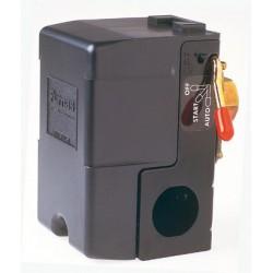 Contacteurs manométriques 69 WEC bipolaire avec interrupteur et sécurité de manque d'eau
