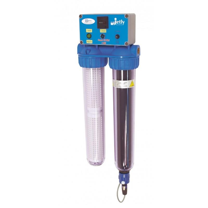 Désinfection - purification des eaux domestiques GERMI ULTRA 1000