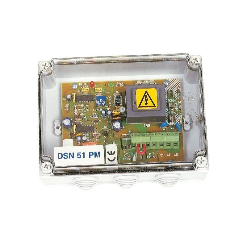 Coffret protection moteur et de surveillance de niveaux DSN 51 PM sous coffret