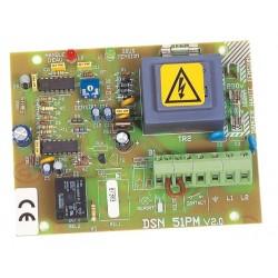 Carte DSN 51 PM pour coffret protection moteur et surveillance niveaux