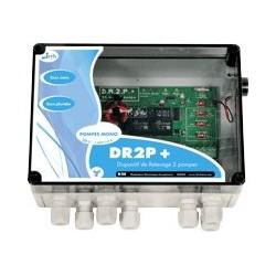 Coffret commande et protect. élect. DR2P 12A pour 2 pompes relevage