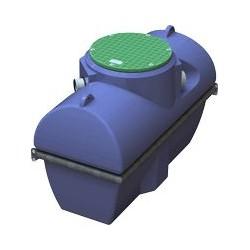 Séparateur à graisse avec débourbeur HG0502E pour collectivité