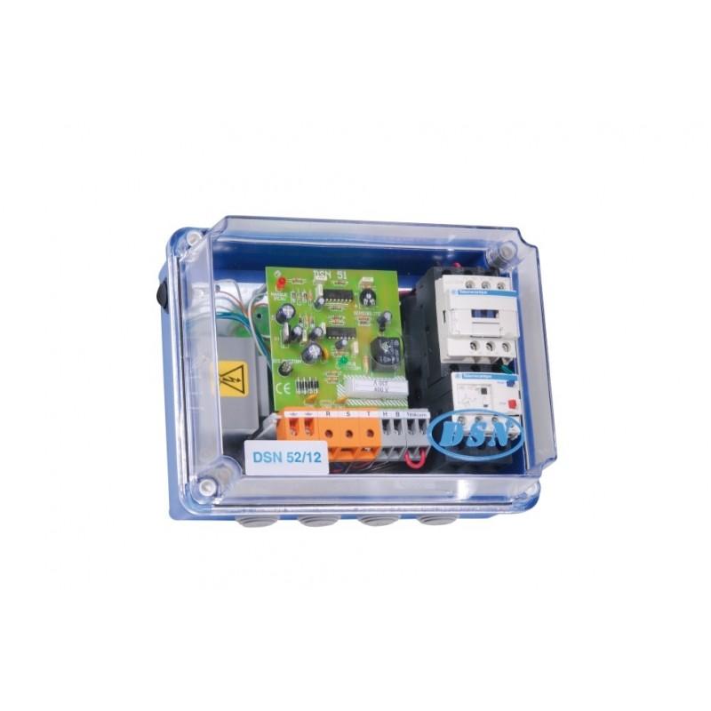 Coffret protection moteur et de surveillance de niveaux DSN 51/12 T