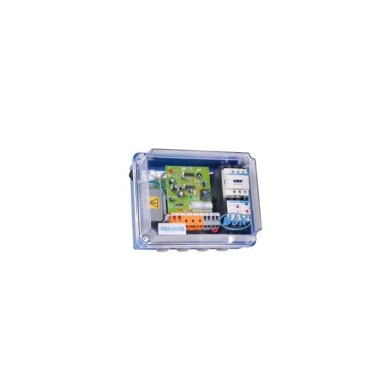 Coffret protection moteur et de surveillance de niveaux DSN 52/12 inversé