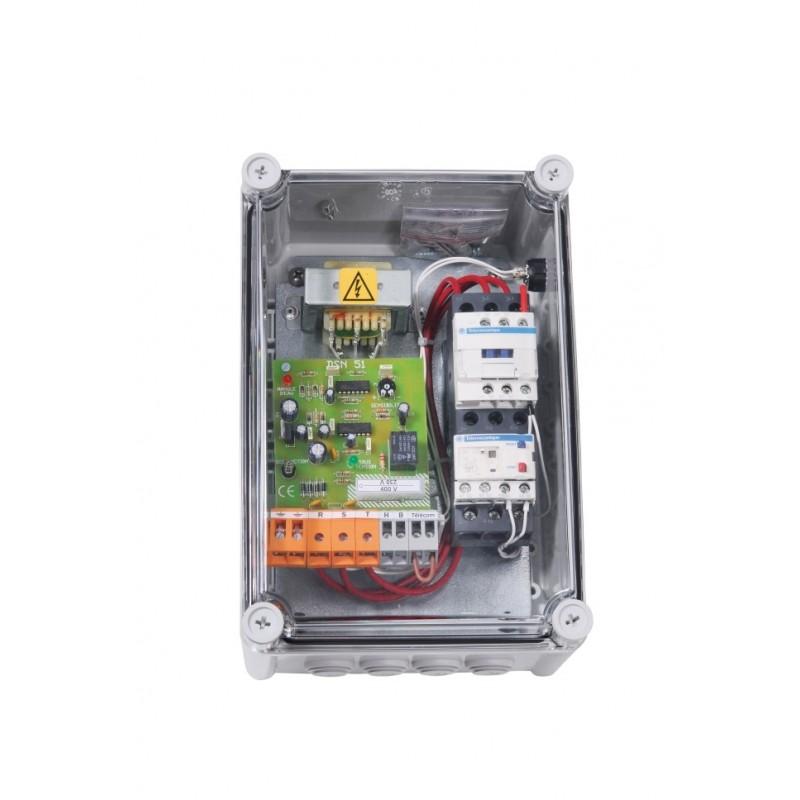 Coffret protection moteur et de surveillance de débit PAD 03/25 T