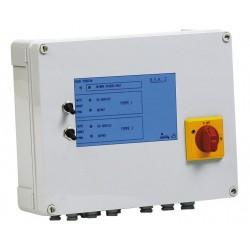 Coffret de commande et protection BSR 2 T 1,6/2,5A 2 pompes relevage