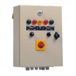 Armoire de commande et protection CSR 2 T 2,5/4 A 2 pompes relevage
