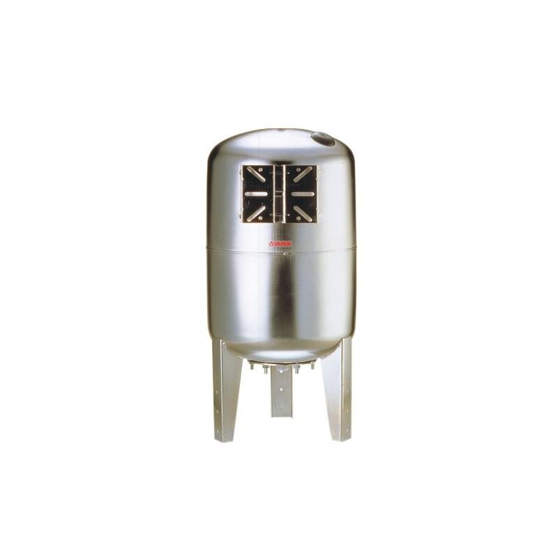 Réservoir 20L vertical à vessie interchangeable tout inox 8 bars